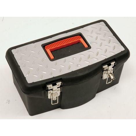 Boîte / Caisse à outils plastique garnie de 30 outils MOB OUTILLAGE