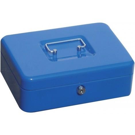 Boite caisse argent ,bleu, 330x235x90