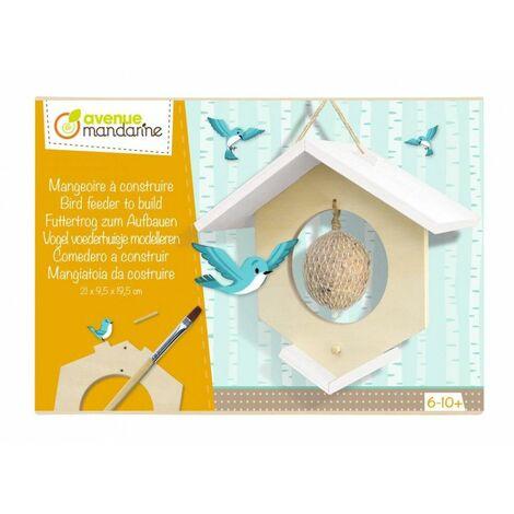 Boîte créative - Mangeoire - 20 x 9,5 x 21 cm - Livraison gratuite