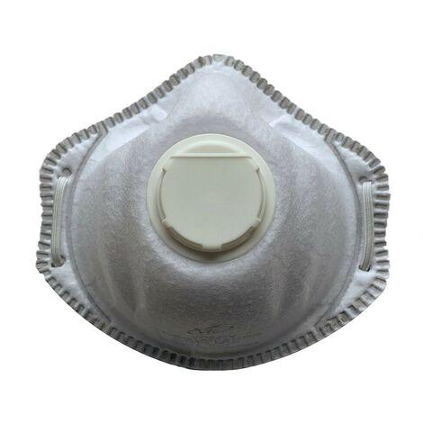 Boite de 10 masques coque FFP3 avec soupape - Uvex - 8739512