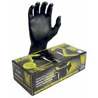 Boîte de 100 gants Blackmamba jetables nitrile XL