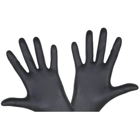 "main image of ""Boîte de 100 gants BLACKMAMBA XL Réf. BLM05008 CBM, Gant, XL, Noir, BLACKMAMBA, 42032910"""