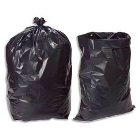 Boîte de 100 sacs poubelle 130 litres noir