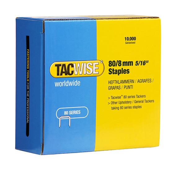 Série Rapid 53 galvanisé Staples 8 mm Boîte de 2500pc
