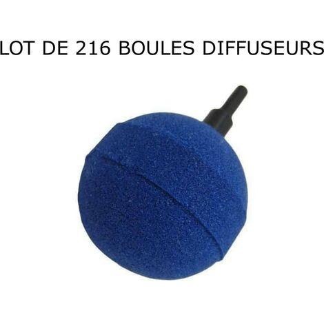Boîte De 216 Diffuseurs D'Air, Boules, sphèriques Pour Aérer Les Bassins De Jardin : 5 cm