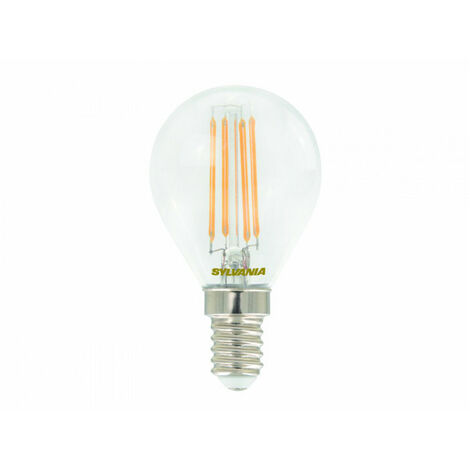 Boîte de 4 ampoules Led SPH E14 827 4,4W=40W CLA FIL SYLVANIA