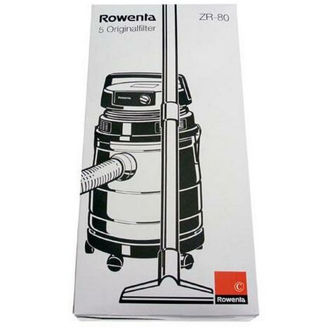 Boîte de 4 sacs WET & DRY (62409-56920) (ZR804, ZR8001) Aspirateur ROWENTA