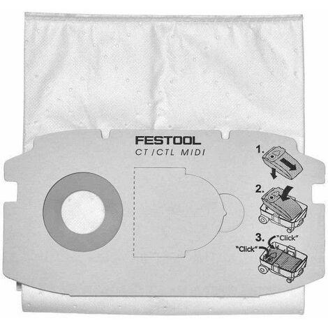 Boîte de 5 sacs filtre papier SELFCLEAN SC FIS-CT 36/5 - 496186
