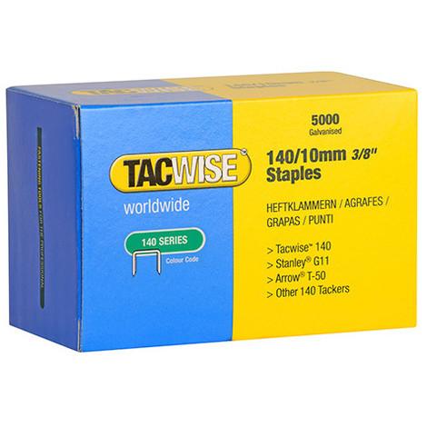 Boîte de 5000 agrafes galvanisées de type 140 L. 10 mm - TA-0342 - Tacwise
