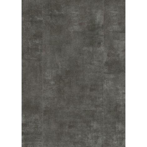 Boite de 8 dalles à clipser - 2,28 m² - Senso Clic 30 391x729 Metal Board Dark - Gerflor