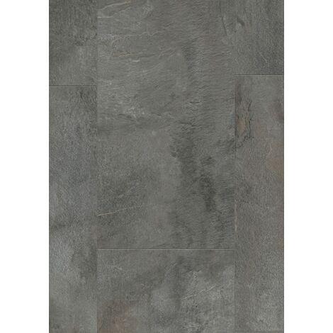 Boite de 8 dalles à clipser - 2,28 m² - Senso Premium clic 391x729 Shale Dark - Gerflor
