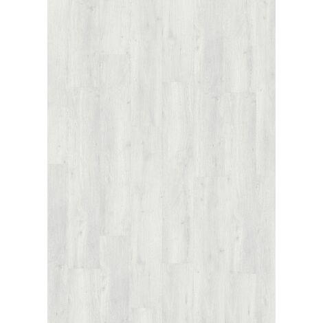 Boite de 8 lames à clipser - 2,12 m² - Senso Premium Clic 214x1239 Sunny White - Gerflor - SUNNY WHITE