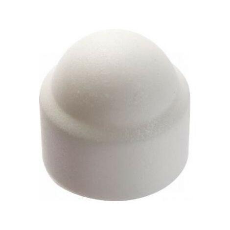 Boite de caches écrous hexagonaux blancs ACTON