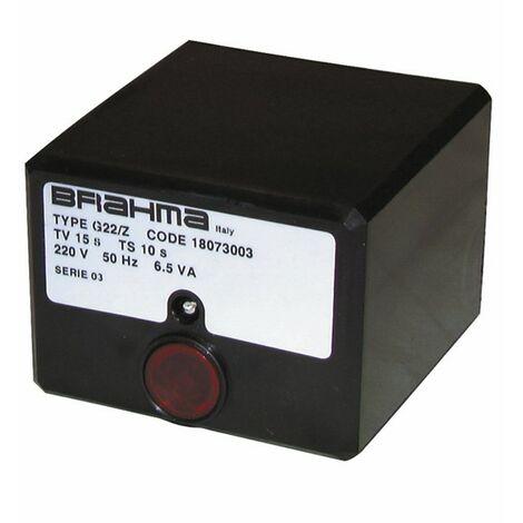 Boîte de contrôle BRAHMA G22/03 seule - BRAHMA : 18058000