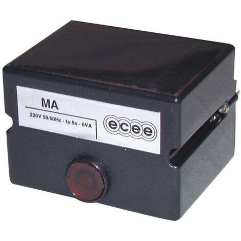 Boîte de contrôle CEM ECEE - MA 55R - ECEE : MA55R.10M