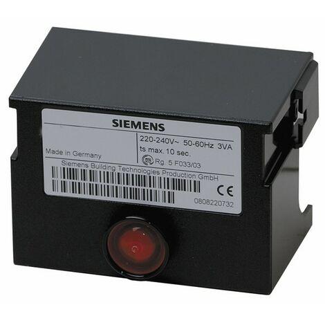 Boîte de contrôle LANDIS & GYR STAEFA - SIEMENS fioul - LMO 64 302C2B - BENTONE AHR : 12000002