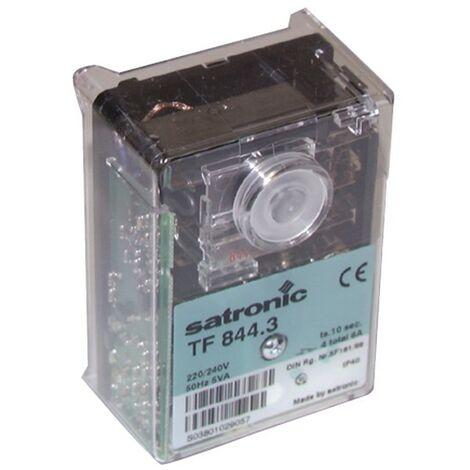Boîte de contrôle SATRONIC fioul - TF 844 - HONEYWELL SPC : 02437U