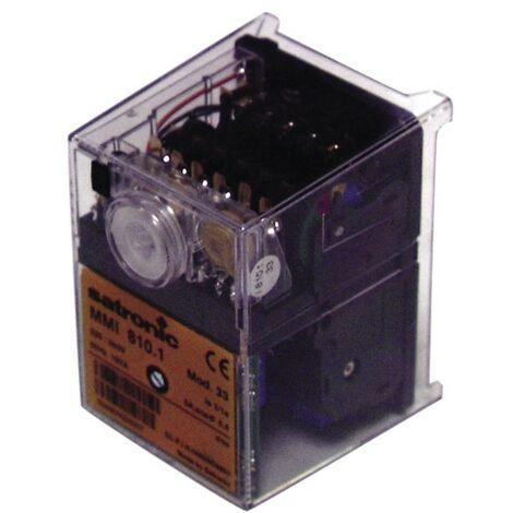 Boîte de contrôle SATRONIC gaz - MMI 810.1.33 - HONEYWELL SPC : 0620220U