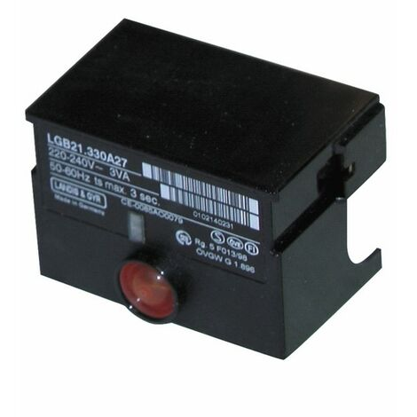 Boîte de contrôle SIEMENS LGB 21 350A27 - SIEMENS : LGB21 350A27