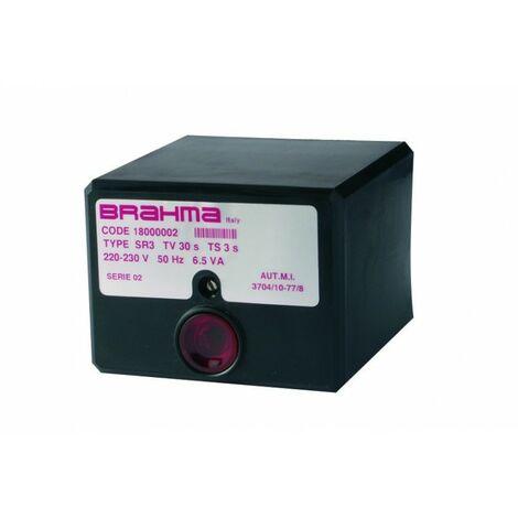 Boîte de contrôle SR3 - Réf 18000002