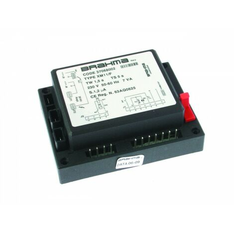 Boîte de contrôle XM 11 F - réf 37068002