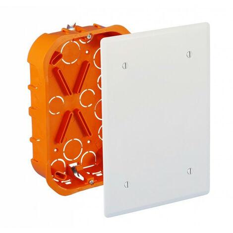 Boîte de Dérivation 51002 EUR'OHM Encastrée Cloisons Sèches 100x100x40