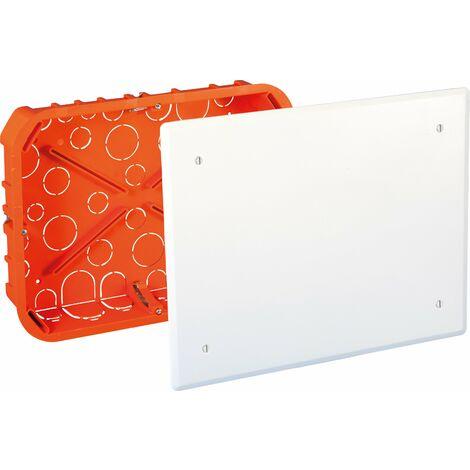 Boite de derivation encastree cloison seche 250x190x50 Eurohm