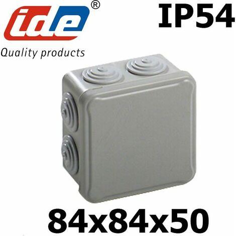 Boite de dérivation étanche IP65 (ou IP54) avec passes fils coniques