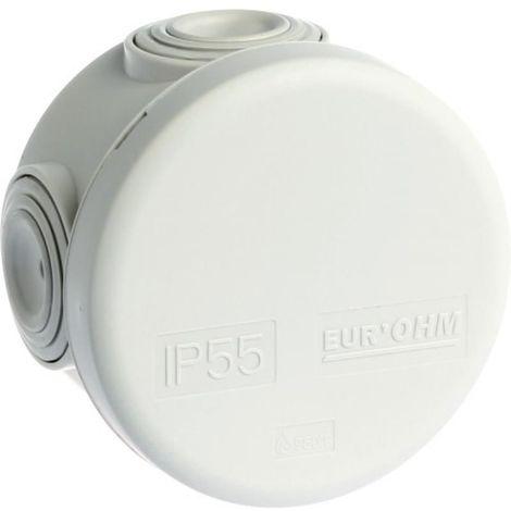 Boîte de dérivation ronde étanches - 4 entrées - 960°C - IP65