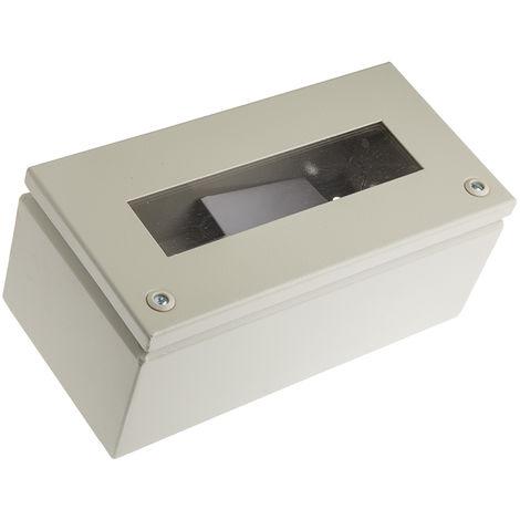 Boîte de jonction en Acier Gris 150 x 300 x 120mm, IP65