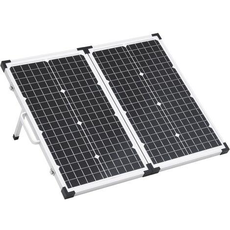 Boîte de panneau solaire pliable 60 W 12 V