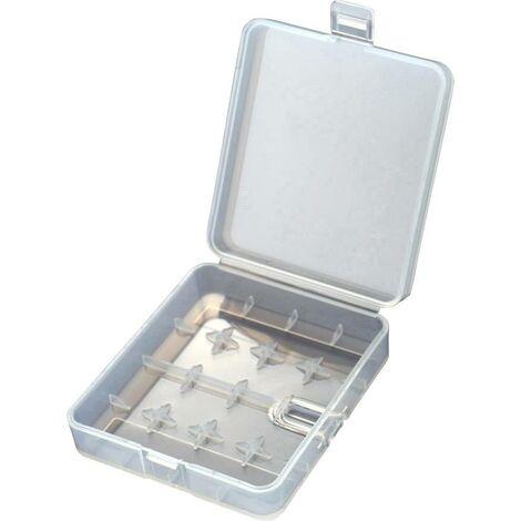 Boîte de piles 18650 Soshine SBC017 (L x l x H) 84 x 74 x 23 mm C652631