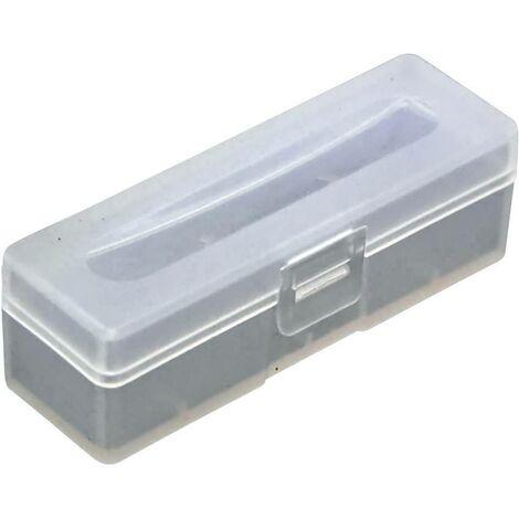 Boîte de piles 18650 Soshine SBC026 (L x l x H) 73 x 22.2 x 22.2 mm C652651
