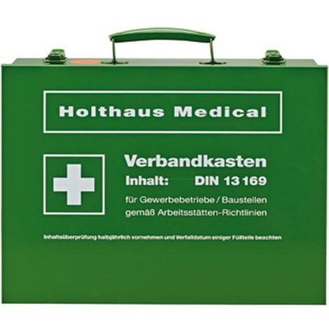 Boîte de premiers secours, Modèle : Boîte à pharmacie, Dimensions 350 x 255 x 105 mm