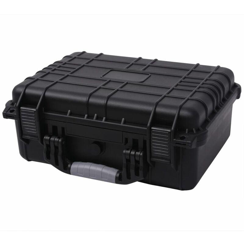 Youthup - Boîte de protection pour équipement 40,6 x 33 x 17,4 cm noir