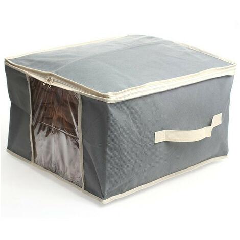 Boite de rangement avec sac sous vide 40 x 40 x 25 cm