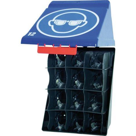 2x Boîte de rangement klappbox pour lunettes de protection brillenbox 205x95x90mm #