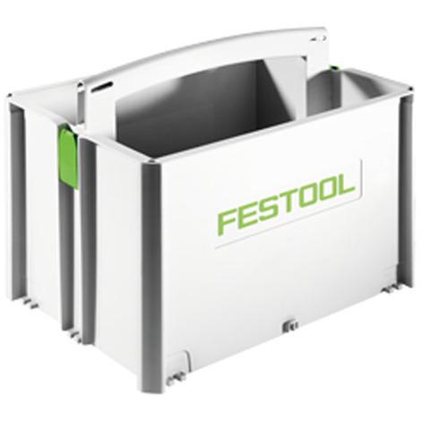 Boîte de transport SYS-ToolBox SYS-TB-2 H257mm 20L FESTOOL 499550