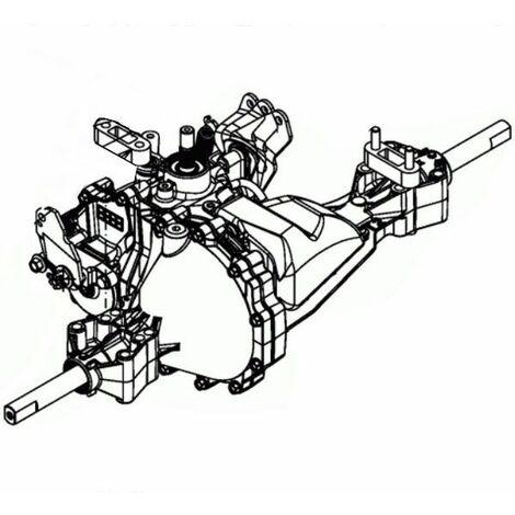 Boîte de vitesse Hydrostatique autoportée MTD