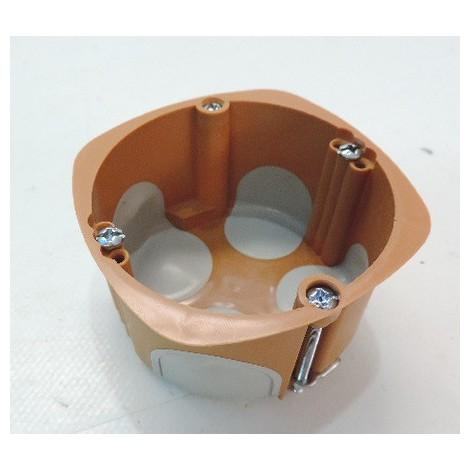 Boite d'encastrement BBC Ø 68mm 1 poste prof 40mm placo R2012 SIB P36840