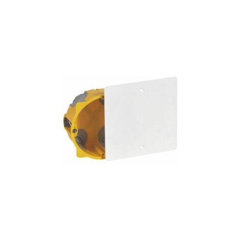 Boîte d'encastrement monoposte pour dérivation Ø85mm - Programme Ecobatibox - 080084 - Legrand