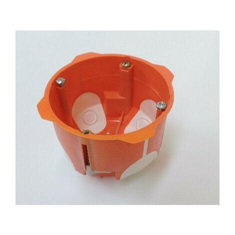 Boîte d'encastrement Placo Simple BBC ø 67mm profondeur 50mm CAPRI CAP713050