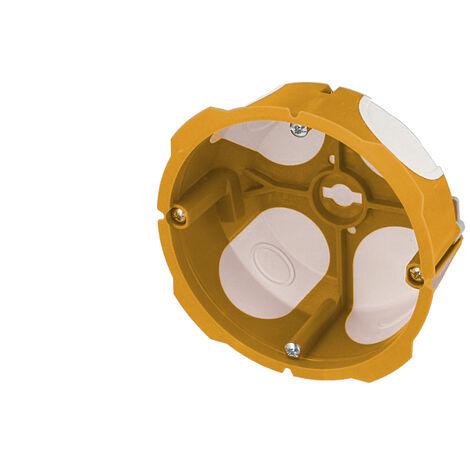 Boite encastrement 1 poste 32A, prof. 40mm, étanche à l'air