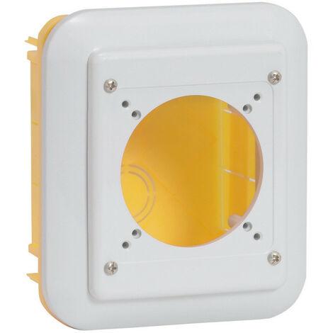 Boite encastrement P17 pour maçonnerie IP55 pour 1 prise 16A ou 32A ou domestique référence 057671 (057722)