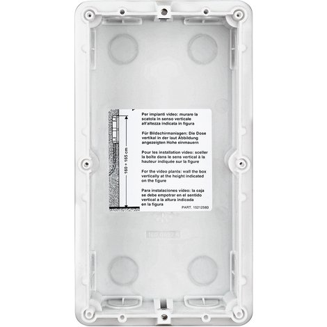 Boite encastrement pour portier vidéo-Legrand- 2 modules