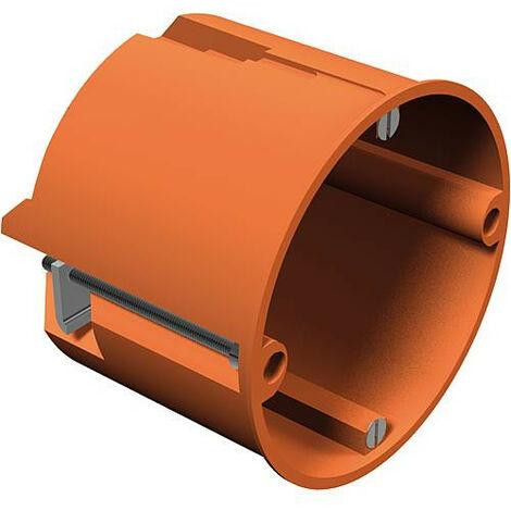 Boite encastrement profonde mur creux, hauteur 50 mm, diam. 74 mm, type HV 60, orange, 1 piece