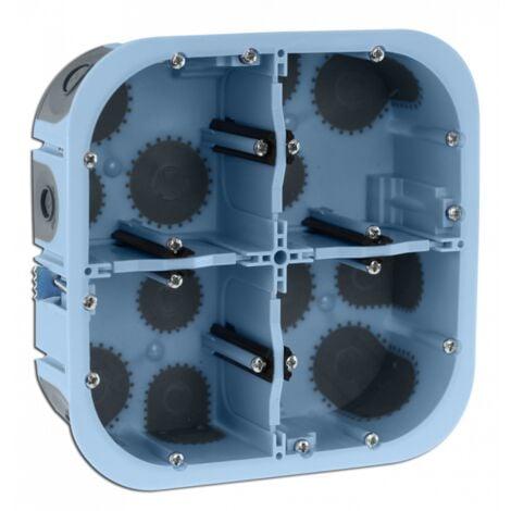 Boîte étanche à l'air XL AIR'metic Grand Format 2x2 Postes Prof.50mm (51017)