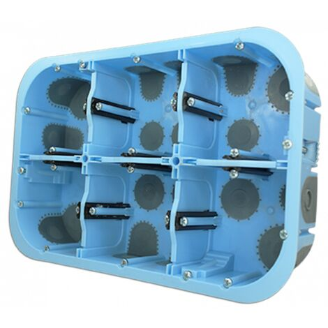 Boîte étanche à l'air XL AIR'metic Grand Format 2x3 Postes Prof.50mm (51020)