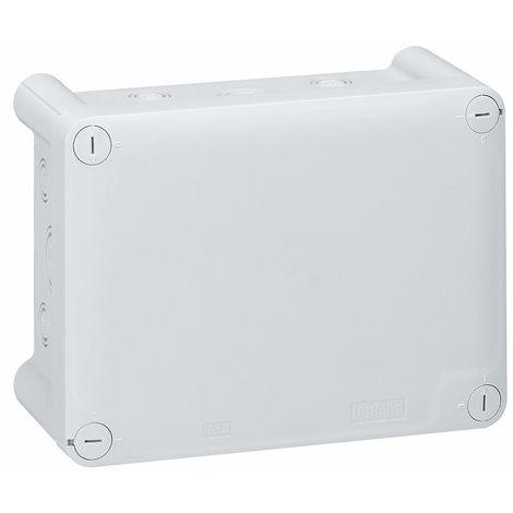 Boîte grise rectangulaire - Presse étoupe - Plexo - Legrand