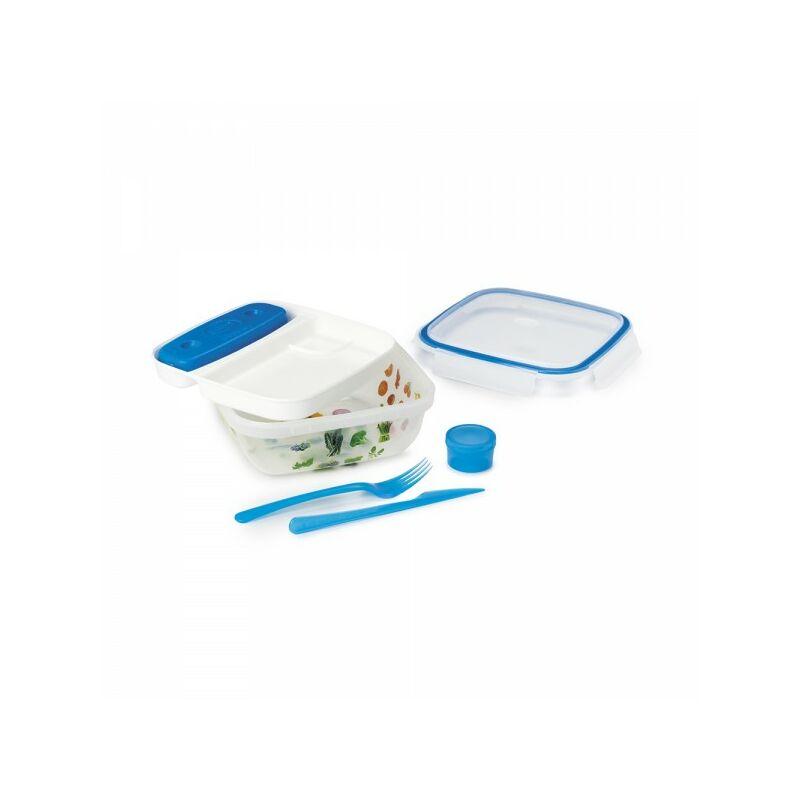 Boite hermetique fresh lunch avec couverts et pain de glace 1.5l . - Snips